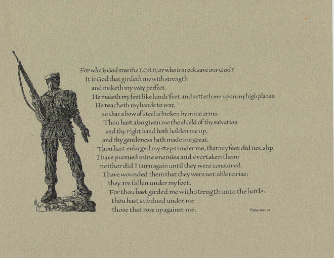 Soldier's Psalm