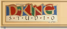 D. King Studio logo